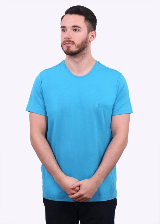 hugo boss accessories ssrn t shirt turquoise aqua t shirts from triads uk. Black Bedroom Furniture Sets. Home Design Ideas