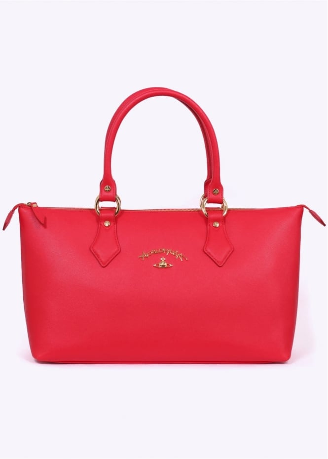 Vivienne Westwood Accessories Divina Shopping Bag - Red