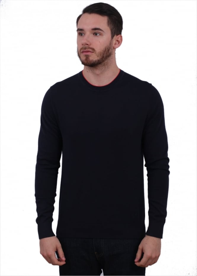 Paul Smith Crew Sweater - Navy