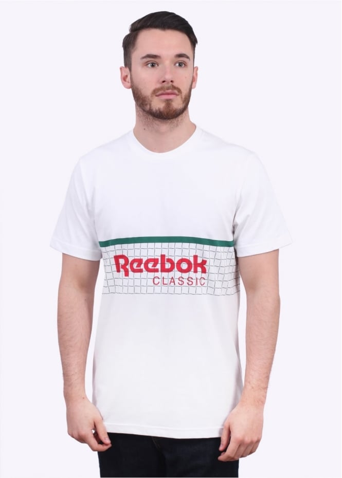 Reebok x Beams Tennis Net Tee - White