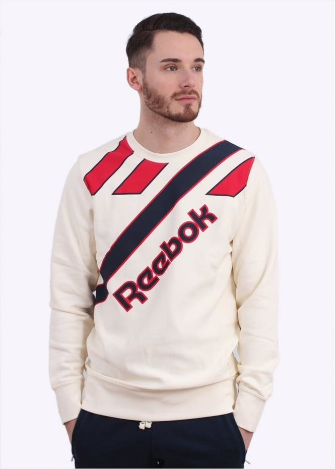 Reebok CC Retro Crewneck - Cream