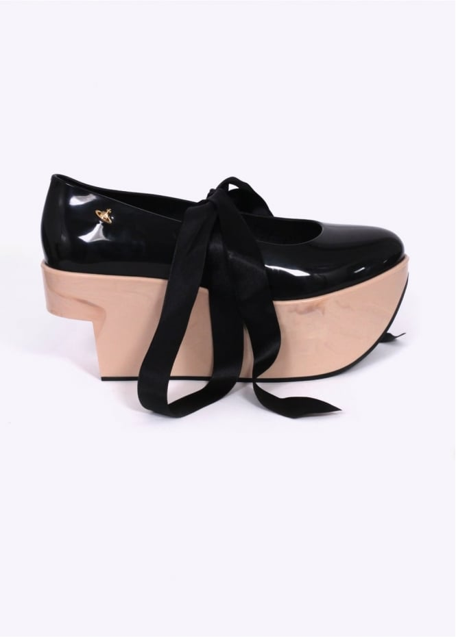 Vivienne Westwood Anglomania x Melissa Rocking Horse Shoes - Black