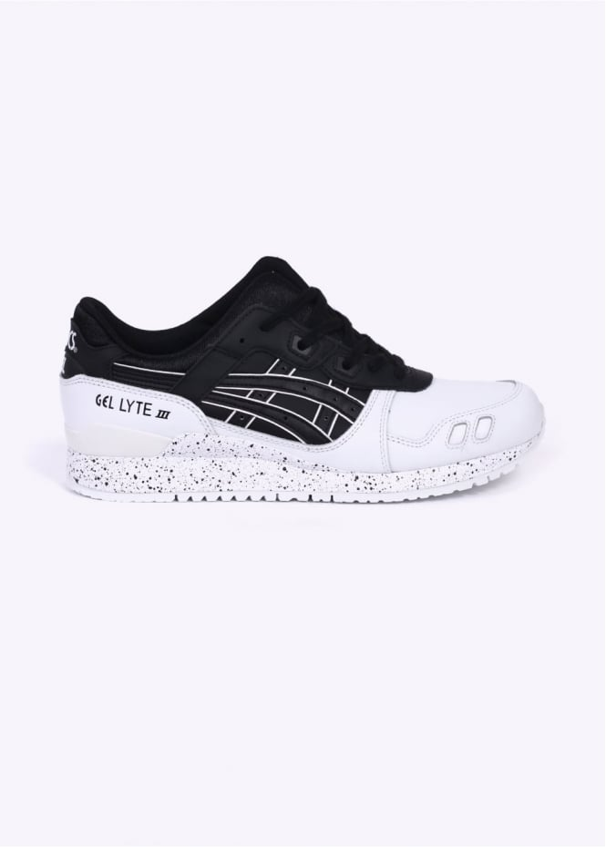Asics Gel-Lyte III - Oreo Black / White