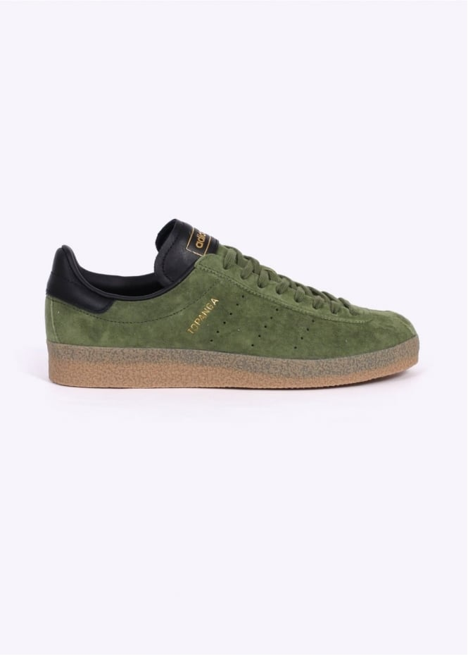 Adidas Originals Footwear Topanga Clean - Green / Black