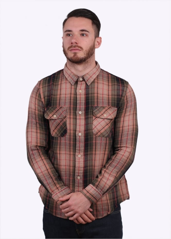 Levi's Vintage Clothing Shorthorn Check Shirt Plaid - Green
