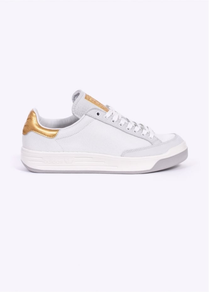 Adidas Originals Footwear Rod Laver Super Gold Leaf '24 Karat' - Vintage White