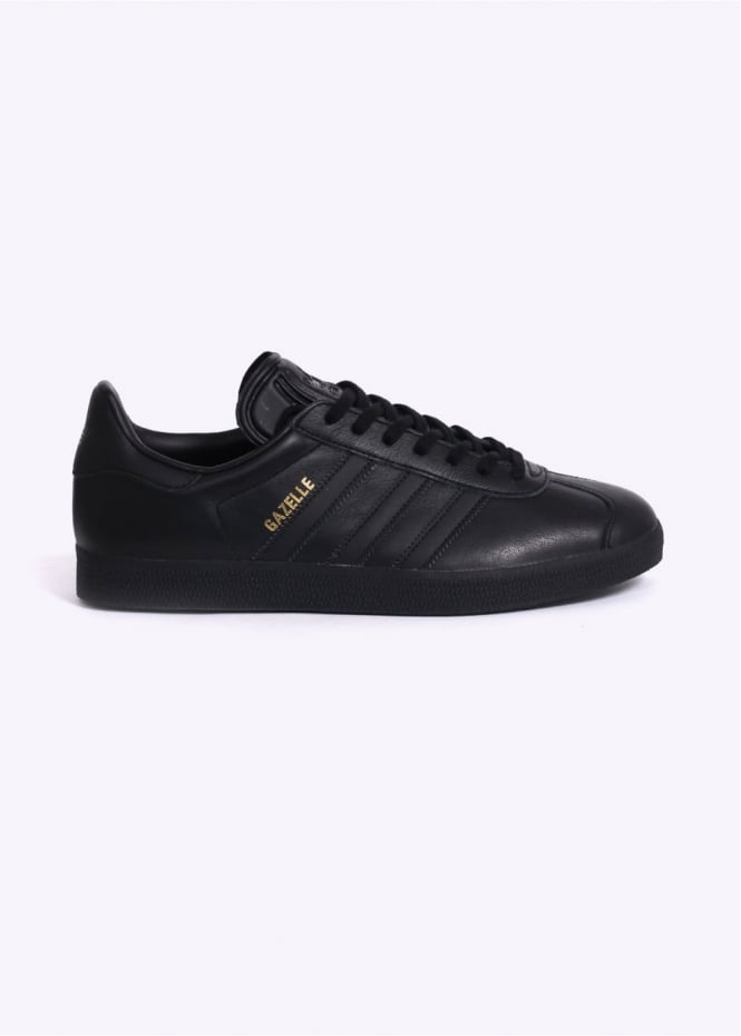 Adidas Originals Footwear Gazelle Leather - Black