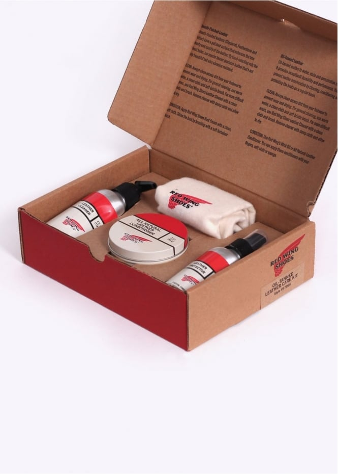Red Wing Shoes Oil Tanned Gift Pack