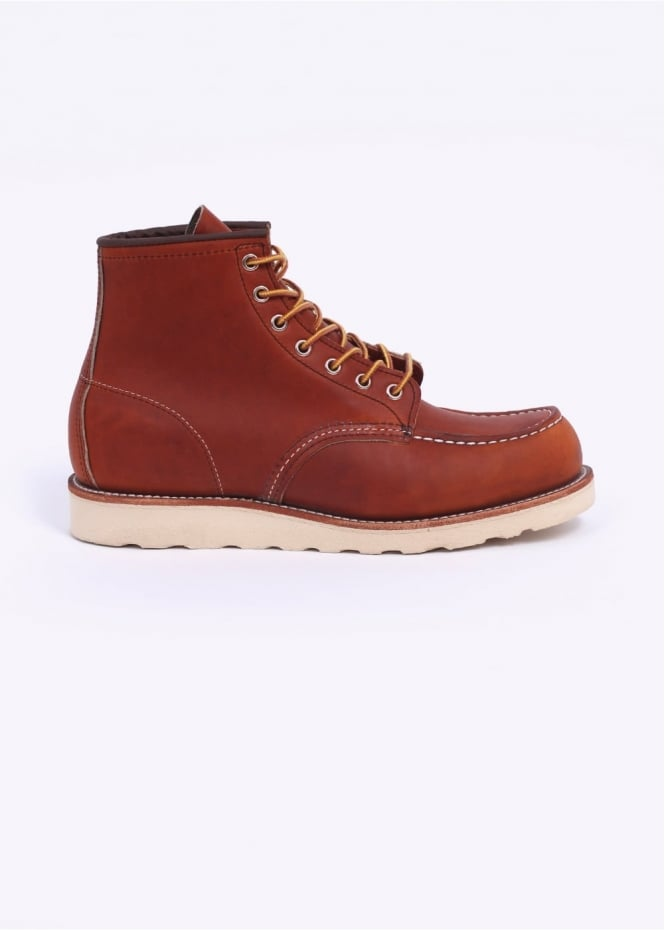 "Red Wing Shoes 6"" Classic Moc Boots - Oro Legacy"