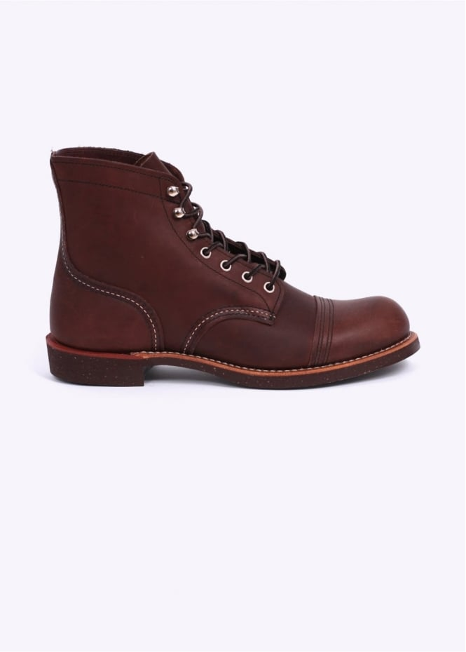 "Red Wing Shoes 6"" Iron Ranger Boots - Amber"