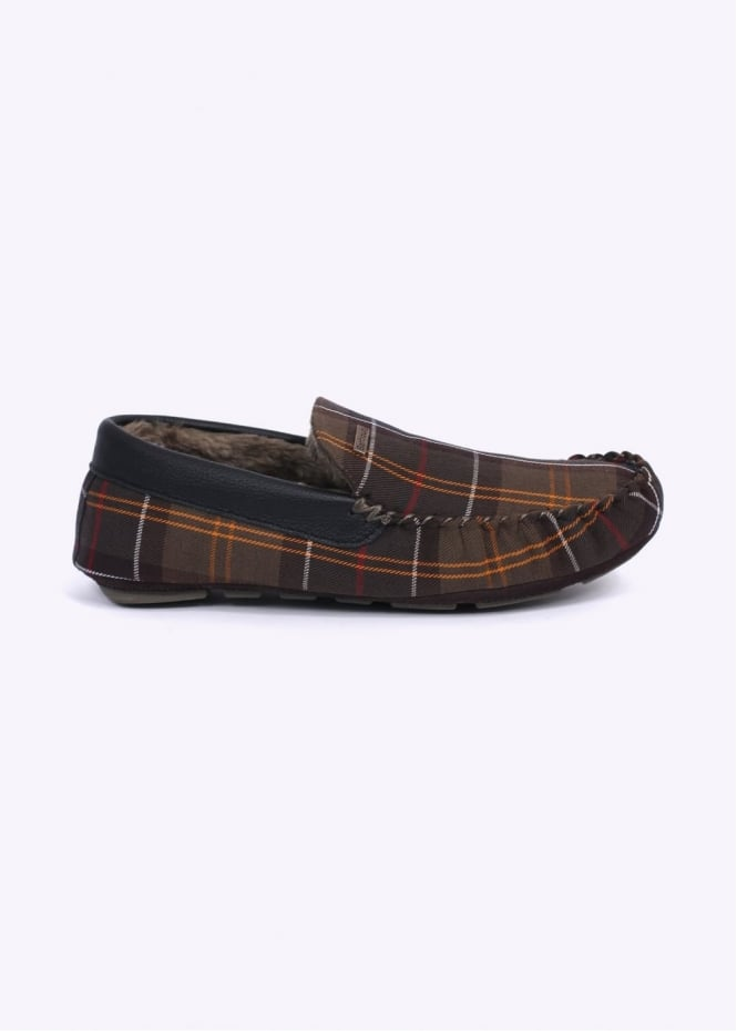 Barbour Monty Slippers - Classic Tartan