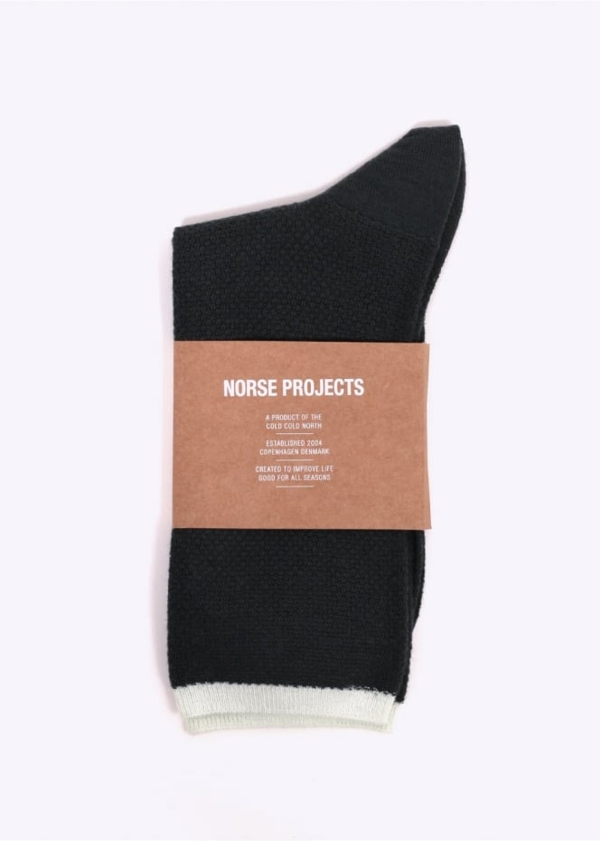 Norse Projects Bjarki Socks - Dried Olive