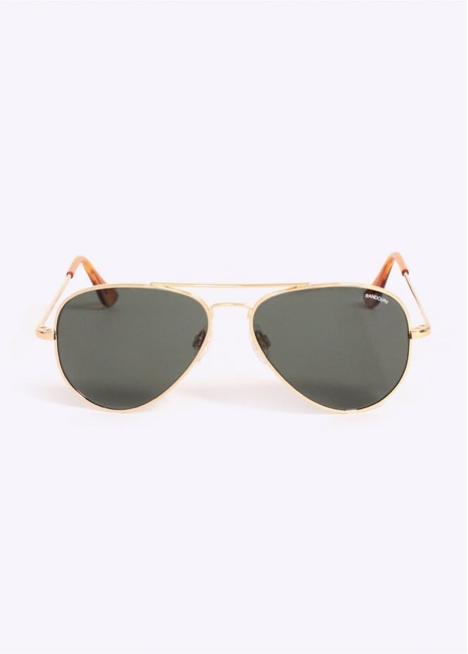 Randolph Engineering Concorde Sunglasses - Gold /AGX 5