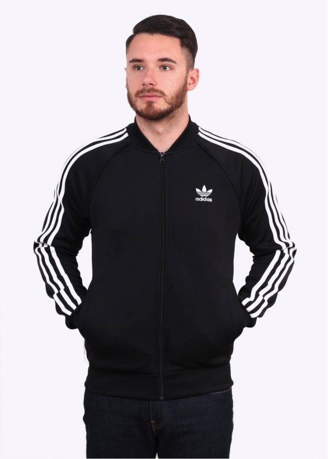 Adidas Originals Apparel SST Track Top - Black