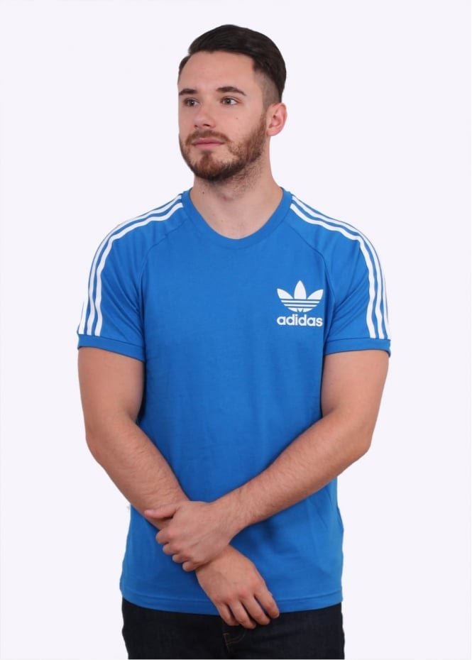 Adidas Originals Apparel CLFN Tee - Bluebird