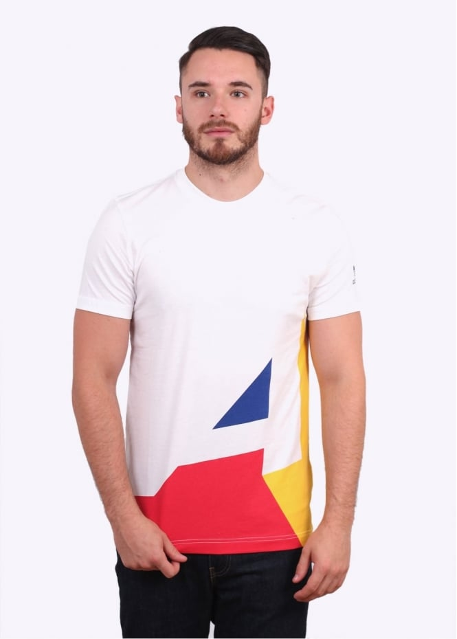 Adidas Originals Apparel Block It Out Tee - White