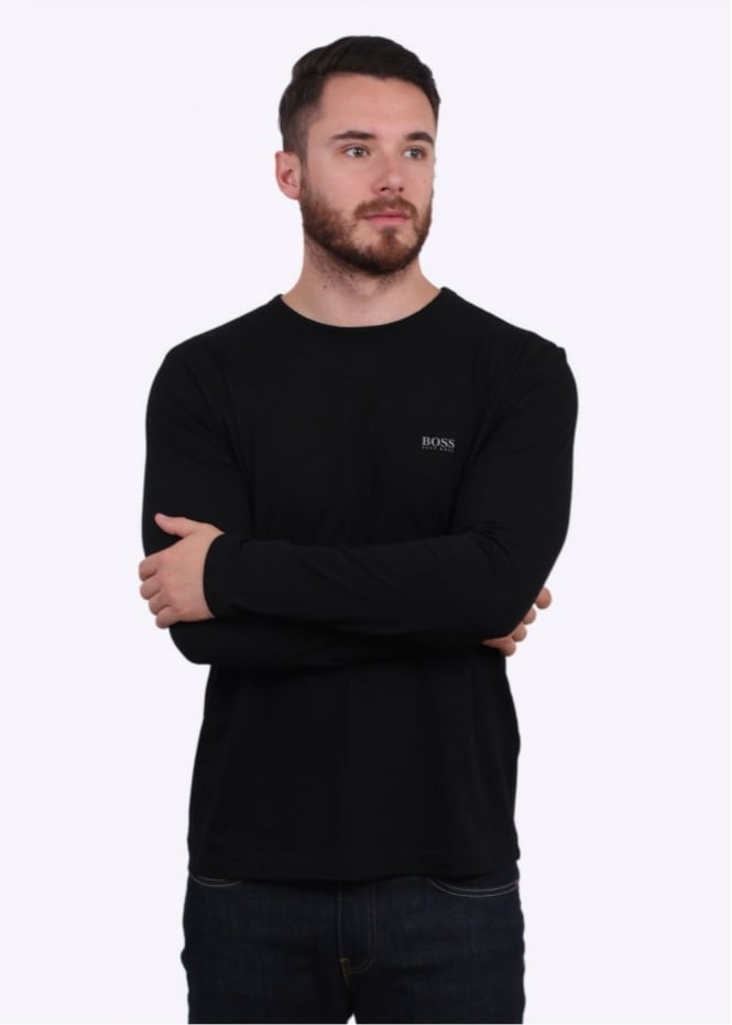 Hugo Boss Green Togn LS Tee - Black