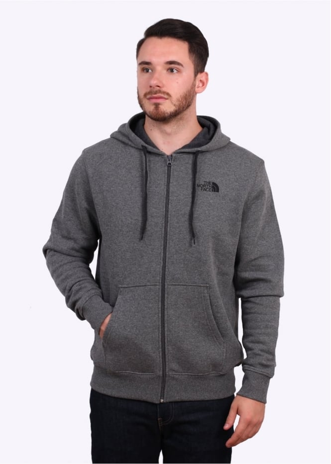 The North Face Open Gate Zip Hoodie - Grey