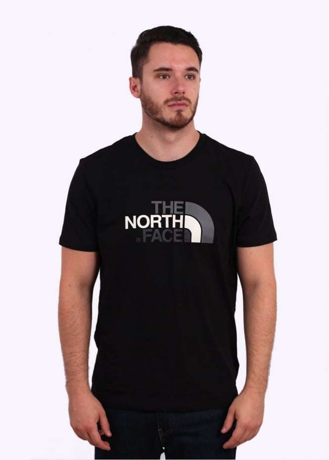 The North Face SS Easy Tee - Black