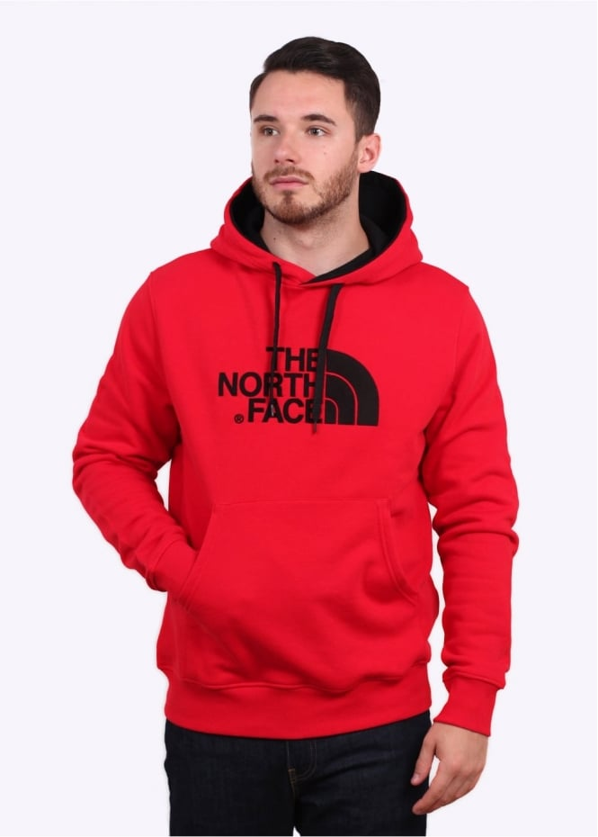 The North Face Drew Peak PV Hoody - Red