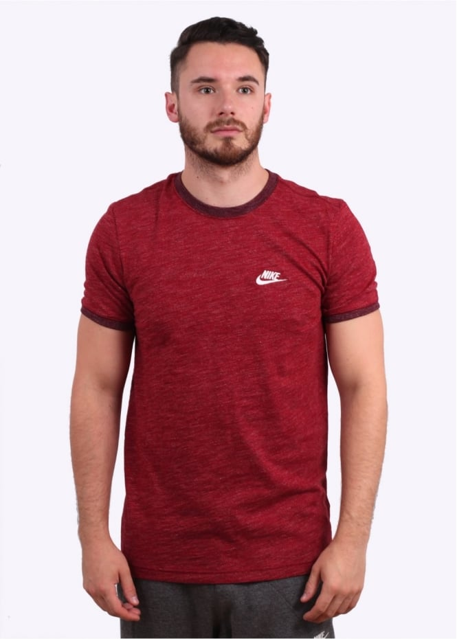 Nike Apparel Legacy Tee - Team Red Heather