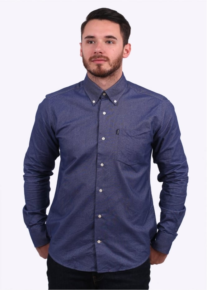 Barbour The Oxford Shirt - New Navy