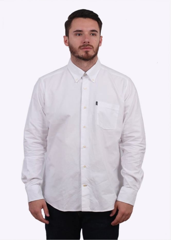 Barbour The Oxford Shirt - White