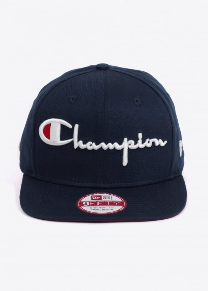 Champion x New Era 9 Fifty Original Fit Cap - Navy