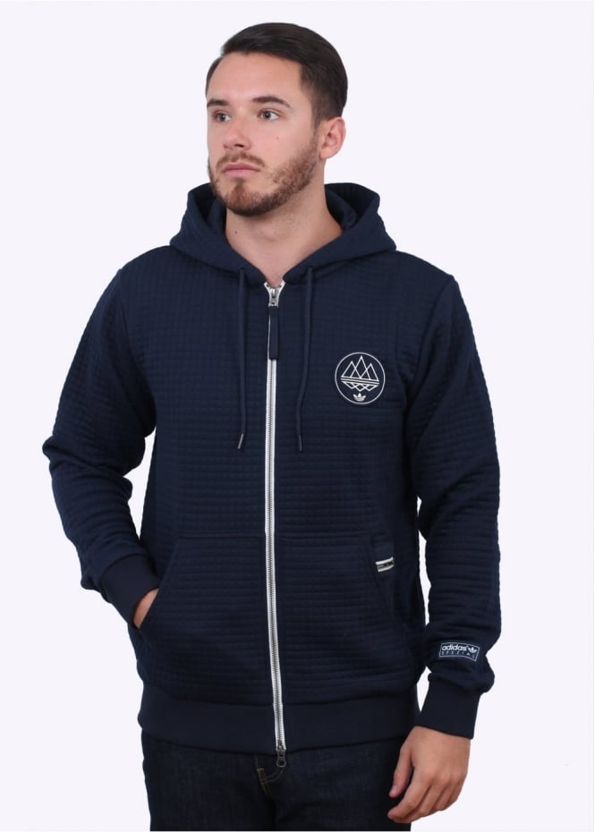 Adidas Originals Spezial Rusholme Hoody - Night Navy