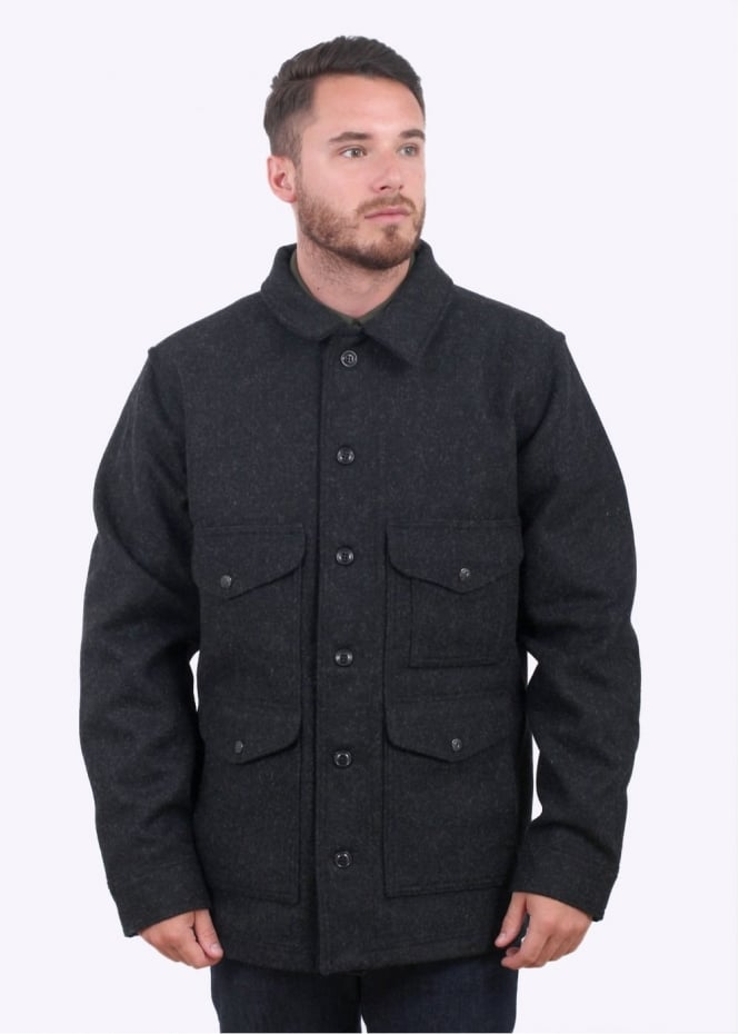 Filson Mackinaw Cruiser Jacket - Charcoal