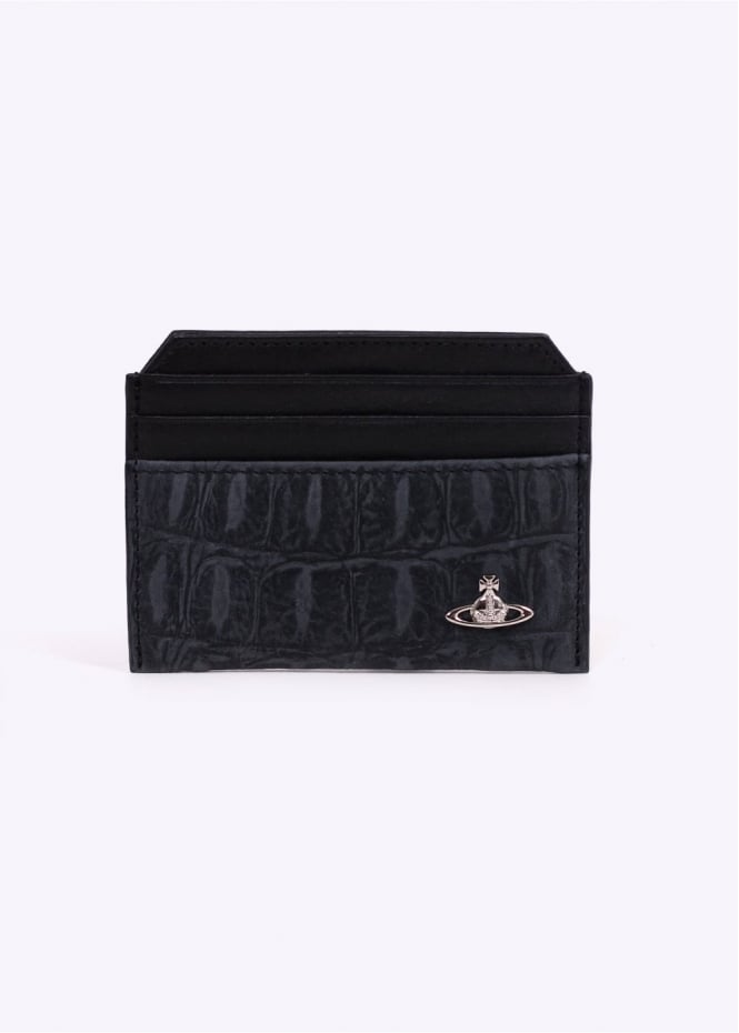 Vivienne Westwood Accessories New Credit Card Holder Amazon - Black