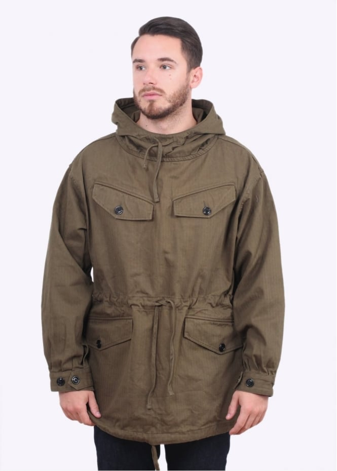 Monitaly Mountain Smock Jacket - Olive