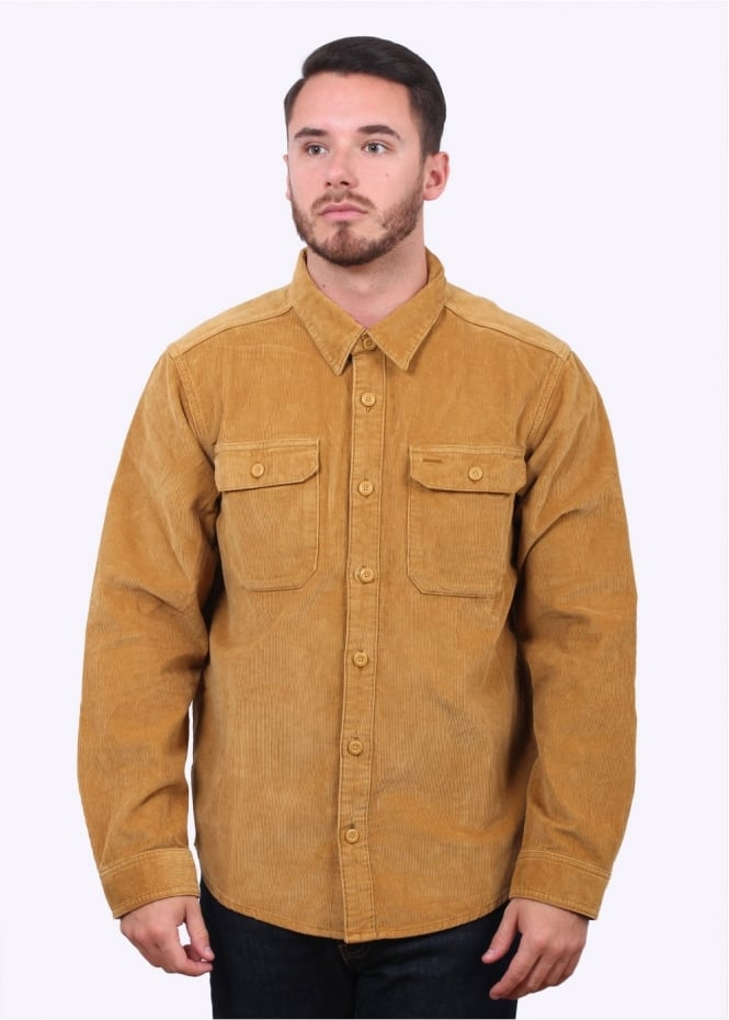 Patagonia LS Workwear Cord Shirt - Oake Brown
