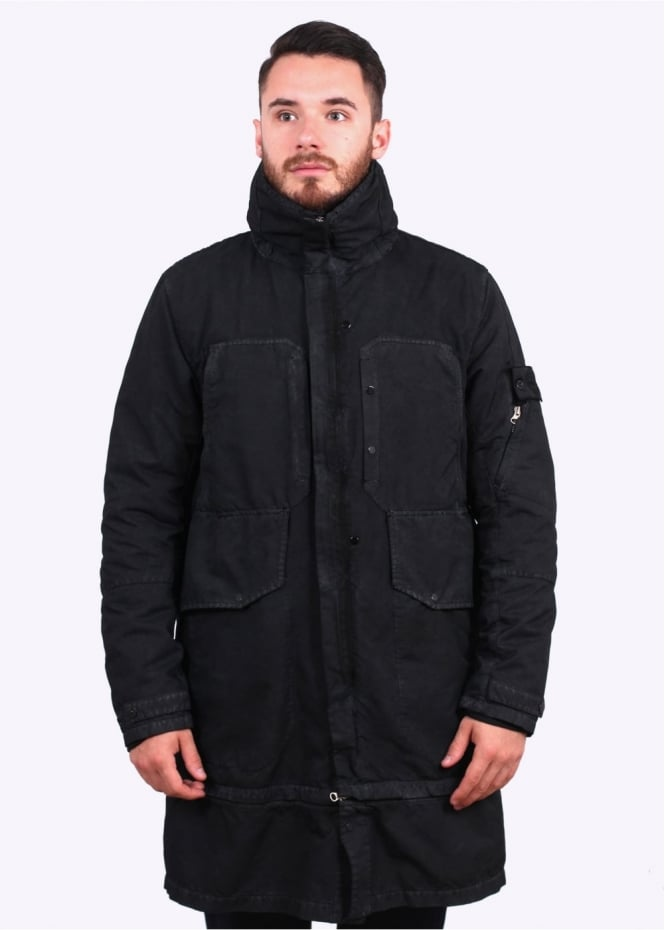Stone Island Shadow Project David T-C Jacket - Charcoal
