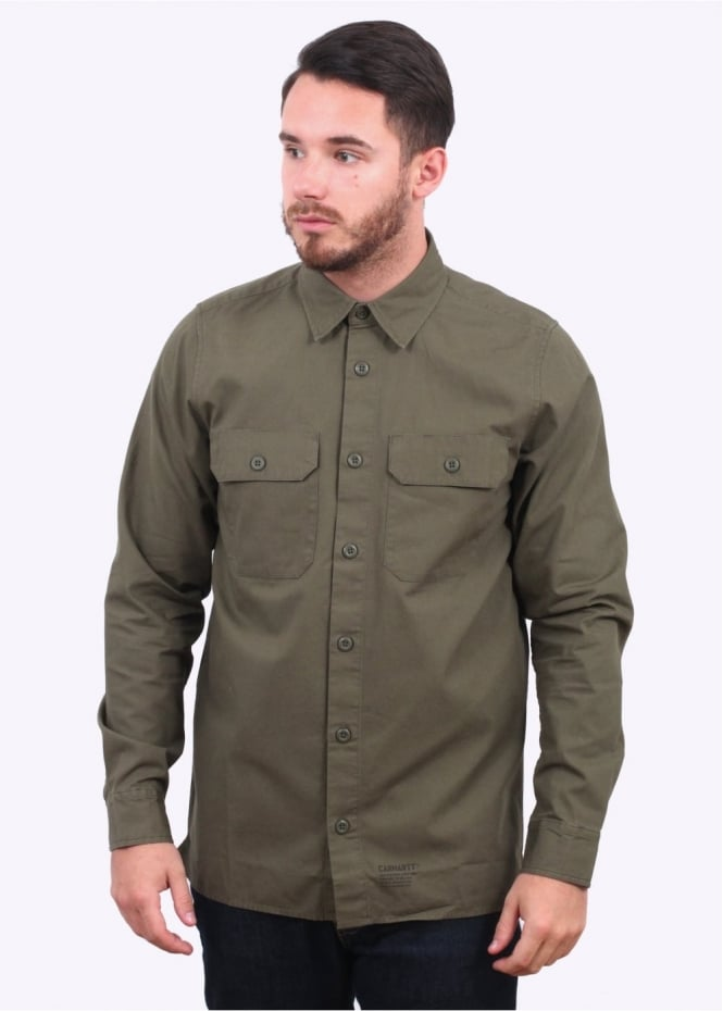 Carhartt Long Sleeve Mission Shirt - Rover Green