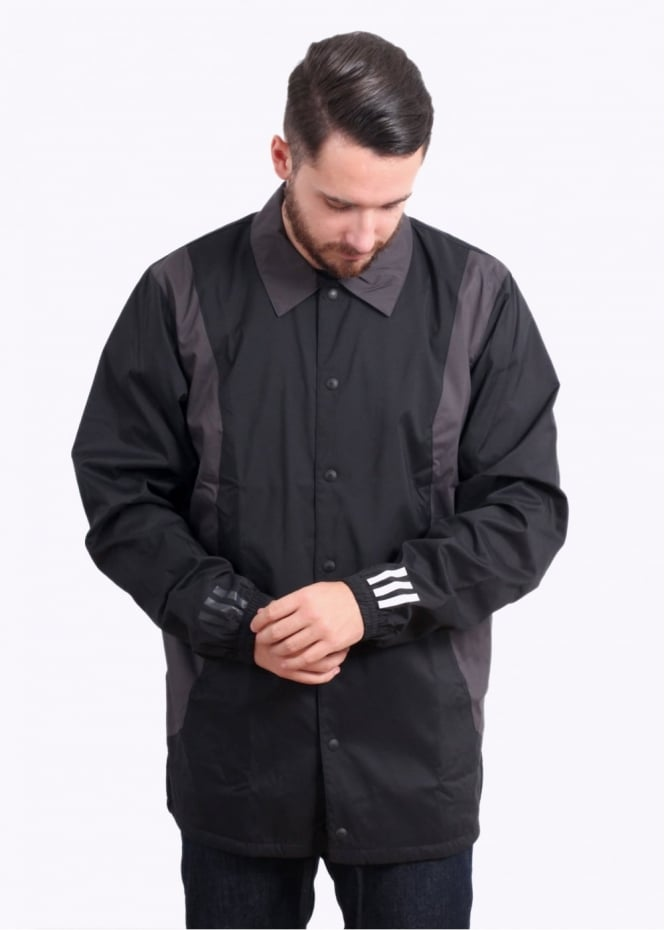 Adidas Originals Apparel x White Mountaineering Bench Jacket - Black