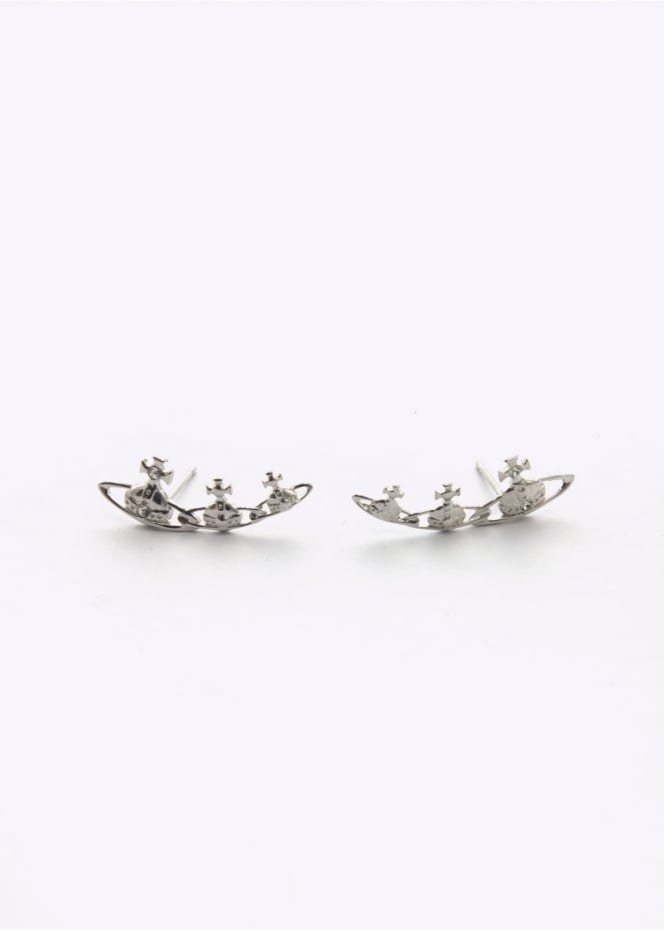 Vivienne Westwood Jewellery Candy Earrings - Rhodium