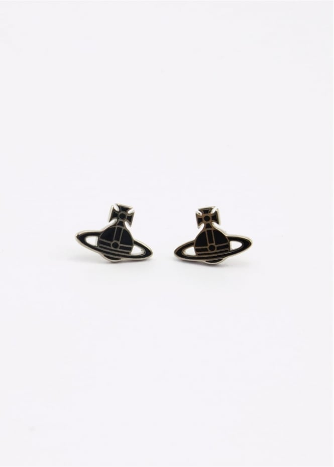 Vivienne Westwood Jewellery Kate Earrings Palladium/Black