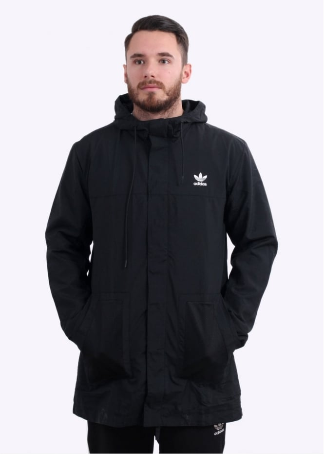Adidas Originals Apparel Parka - Black