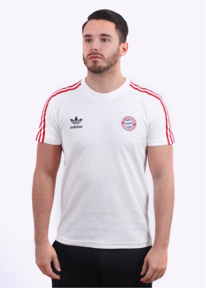 Adidas Originals Apparel Bayern SL Jersey - White