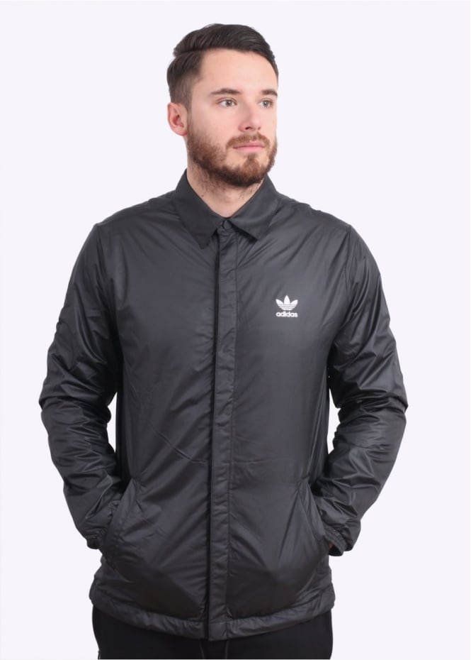 Adidas Originals Apparel Coach Jacket - Black