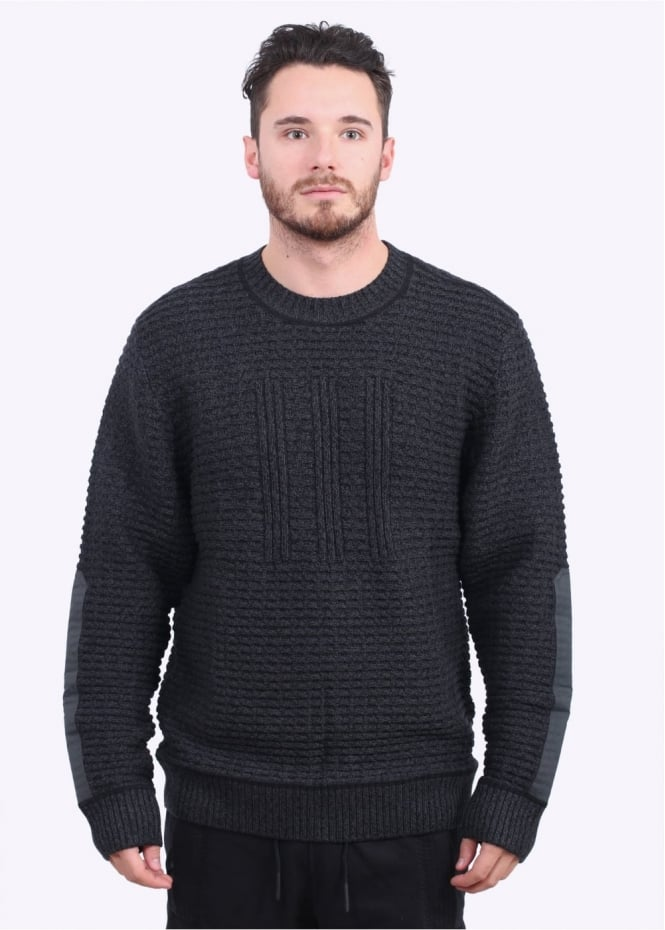 Adidas Originals Apparel Day One Tech Sweater - Black