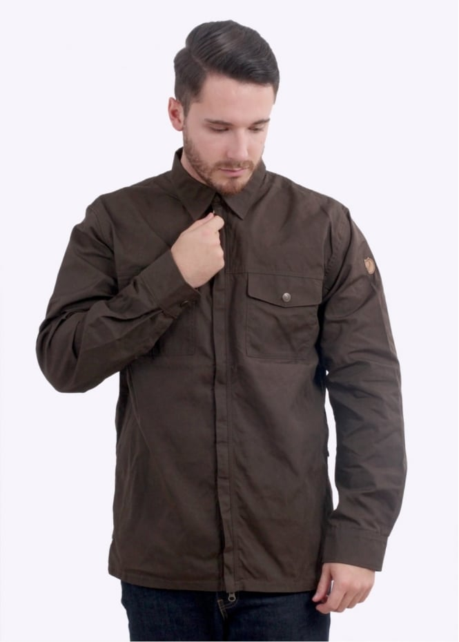 Fjallraven G-1000 Shirt - Dark Olive