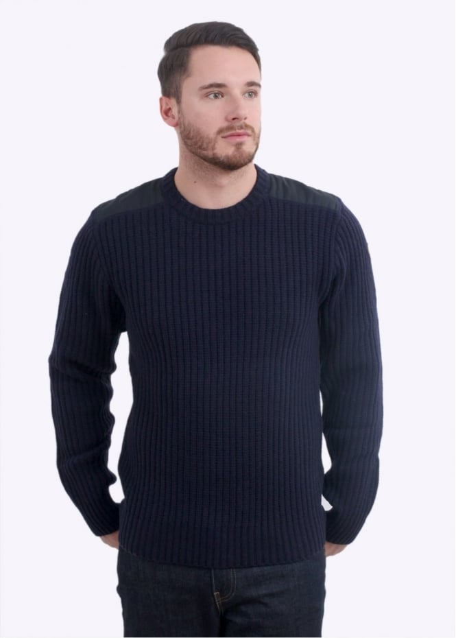 Fjallraven Singi Knit Sweater - Dark Navy