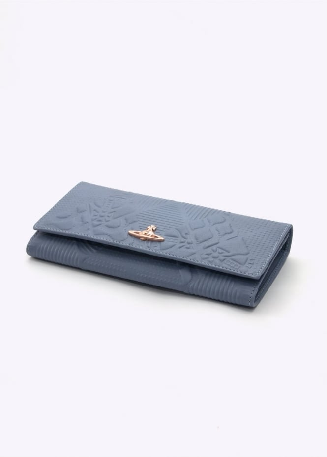 Vivienne Westwood Accessories Hogarth Credit Card Blue
