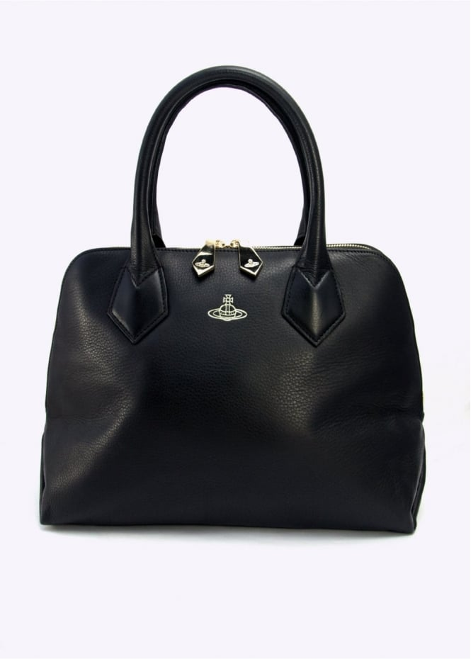 Vivienne Westwood Accessories Spencer Handbag Black