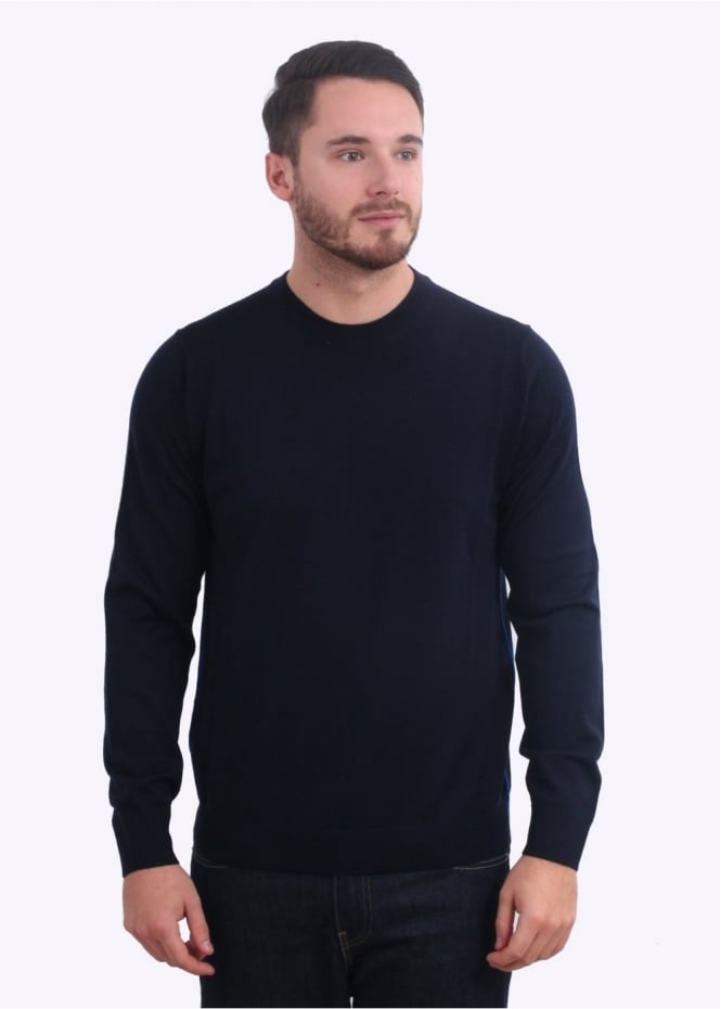 Paul Smith Pullover Crew Neck - Navy
