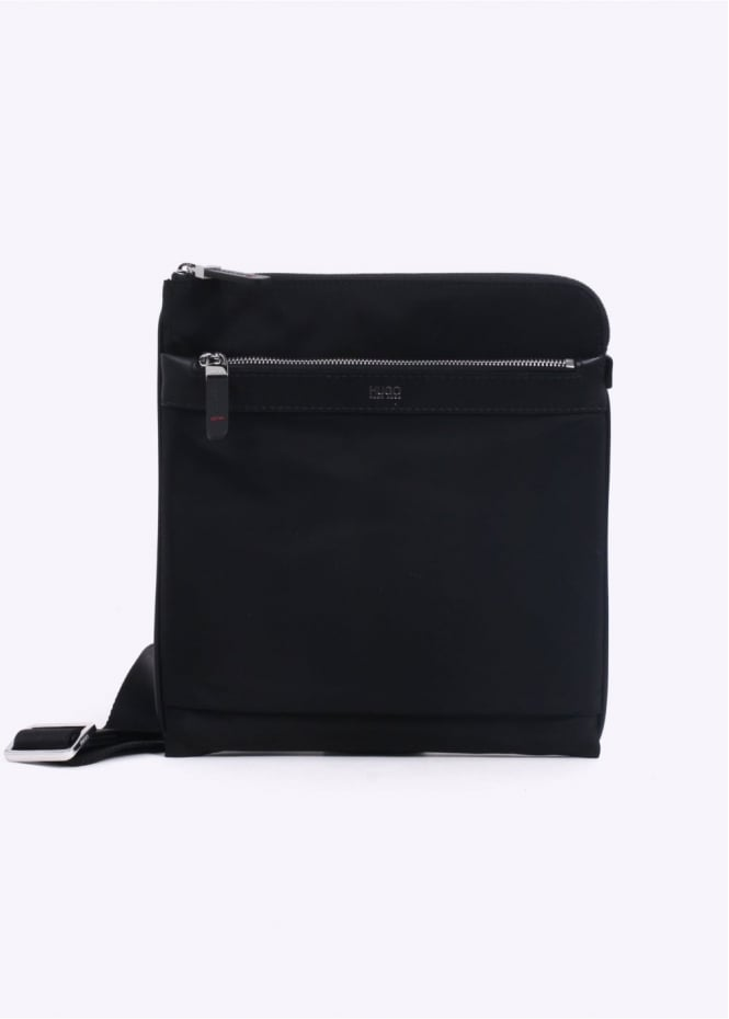 Hugo Boss Accessories Digital LS Zip Bag - Black