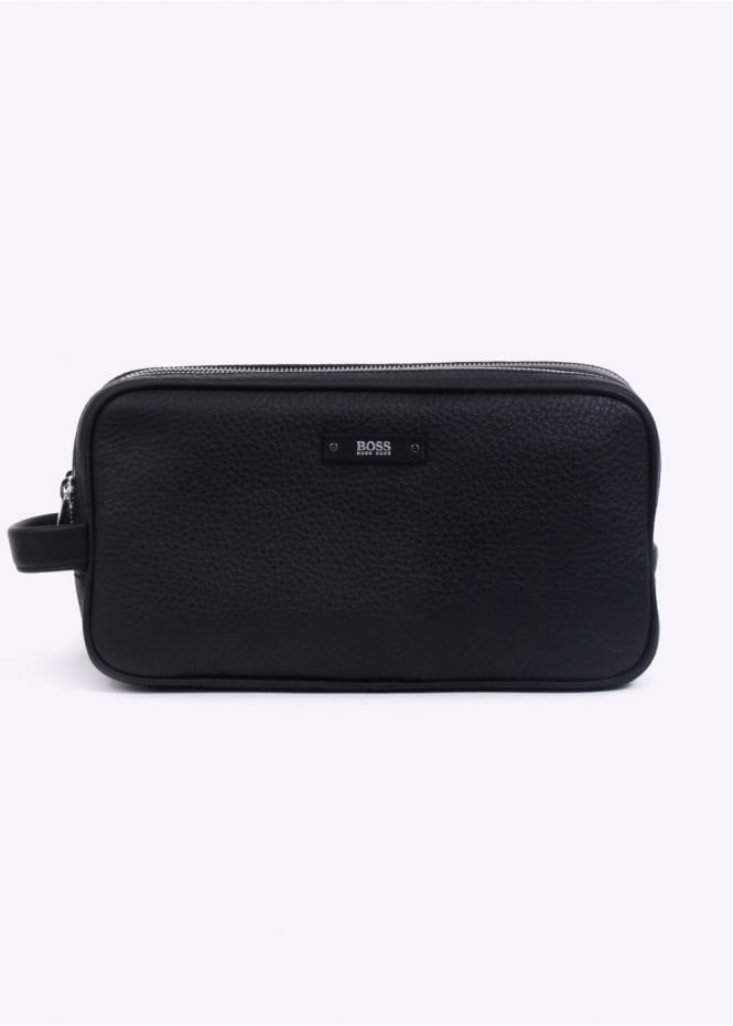 Hugo Boss Accessories Traveller Washbag - Black