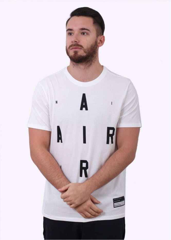 Nike Apparel Air Brand Mark 2 Tee - White